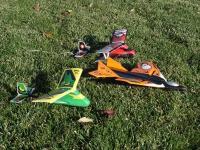 Name: trio.jpg Views: 344 Size: 162.9 KB Description: The trio or AirHogs Aero Aces - Jet, Bipe, highwing monoplane.