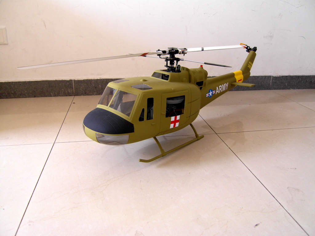 New Product HeliArtist 500 Size UH-1 Fuselage - RC Groups