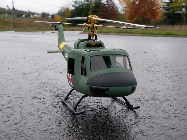 Mini-Review Build/Review: HeliArtist 450 Size UH-1 Huey