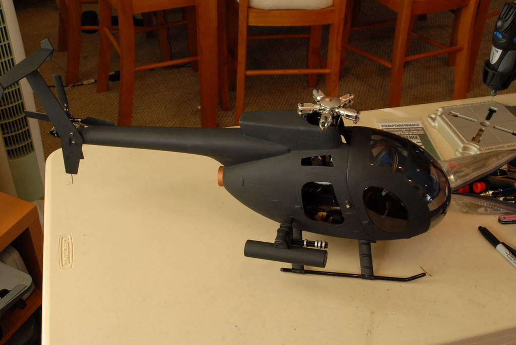 Question 450 Clone Shaft Drive Heli For MD500 Scale?? - RC