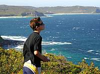 Name: tim-fly.jpg Views: 113 Size: 114.8 KB Description: My son flying around 4 years ago at Dudley Bluff, back when he was 12. In the background you can see The water tower at Hickson St Merewether, great in a SE up to 20 knots.
