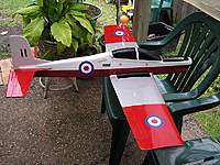 Name: tuc_slope_recovered.jpg Views: 97 Size: 130.3 KB Description: Tucano made from plans by Nigel Hawes. Made for electric, but I converted it to slope I.E left out the motor ;)  One of the most honest flyers I have ever had.