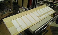 """Name: Space Walker build 007.jpg Views: 219 Size: 146.2 KB Description: Top side sheeted and stripped with 3/32"""" balsa."""