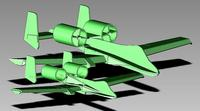 Name: prototype 6.jpg Views: 509 Size: 28.2 KB Description: Prototype 6 next to prototype 1.  Both are at scale.