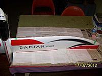 Name: R 100_5432.jpg Views: 89 Size: 32.5 KB Description: Rod epoxyed in place.