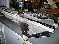 Name: DSC00430.jpg Views: 222 Size: 49.5 KB Description: colocación de la fibra de vidrio preparándose para su unión por wet seam...
