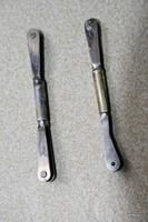 Name: Enigma 025.jpg Views: 299 Size: 38.3 KB Description: flap push rods soldered together with brass tube (2mm threaded bar through the middle
