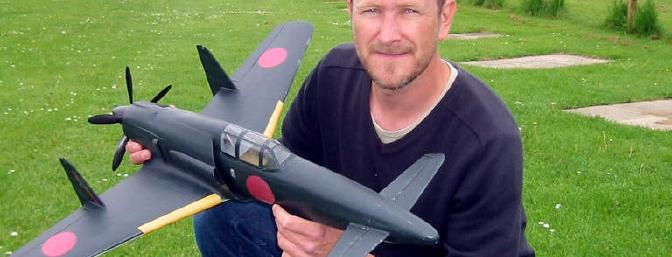 The designer of the Wasp, Michael Hammer, also enjoys building scale models.