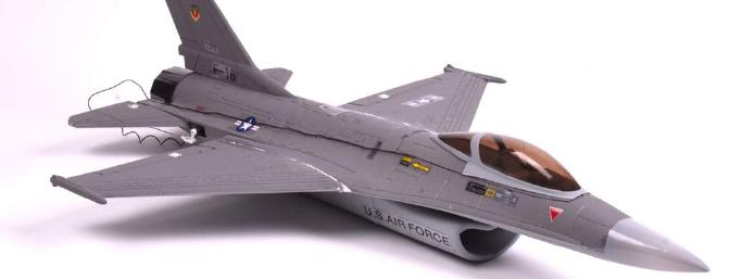 If you've got an evening to spare, you've got yourself a finished F-16. It's that simple to build, and it truly is a no-frills affair.