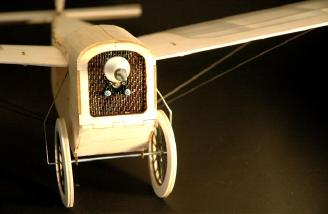 Add a prop, and the 1919 White Sport Monoplane is ready to take to the skies.