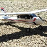 ... the FlyCamOne V2 is ready to go airborne in the ever-versatile GWS E-Starter.