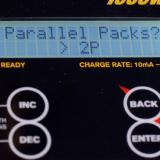 This setting, in all technicality, is just there for math purposes. It will help you calculate the charge rate for up to nine packs —but if you need to charge more than that, you can do the math yourself and set up a custom charge rate.