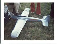 Name: Banshee Jim Martin's original Banshee at the DCRC contest 1972, Dahlgren, VA.jpg