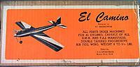 Name: El Camino (Original) kit box pic Designer Ed Baranowski.jpg Views: 164 Size: 44.8 KB Description:
