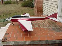 Name: Escape - Dave Wenzels Bridi Escape. 61.5in ws 64in Used this plane to win 2nd BPA sportsman cont.jpg Views: 188 Size: 82.1 KB Description: