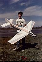 Name: Conquest IV Dean Perra with Conquest IV.JPG