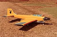 Name: Daddy Rabbit Owner RCG member Curtis1966 pic 01 circa 1980's Rossi 60 SE Rohm Air Retracts.jpg