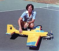Name: Daddy Rabbit Owner RCG member Curtis1966 pic 02 circa 1980's Rossi 60 SE Rohm Air Retracts.jpg