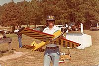 Name: Daddy Rabbit Owner RCG member Curtis1966 pic 03 circa 1980's Rossi 60 SE Rohm Air Retracts.jpg