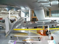 Name: P1010888.jpg Views: 321 Size: 95.2 KB Description: A great illustration of the incredible size of the Spruce Goose.  That DC-3 has a 100-foot wingspan, yet it looks lost underneath the wing of the beast.
