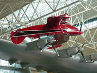 Name: P1010926.jpg Views: 245 Size: 101.5 KB Description: The Pitts S2B owned by the founder of the museum, Capt. Michael King Smith.  Tragically he was killed in a car accident before the museum opened, but his dream was carried on by his father.