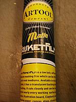 Name: Artool f Frisket Film F301.JPG Views: 15 Size: 221.6 KB Description: Artool Frisket Film low tack. www.ArtoolProducts.com or check with Blicks art supply