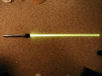 Name: BFRsaberY02.jpg Views: 114 Size: 118.6 KB Description: 1 watt luxeon LED White with a yellow gel