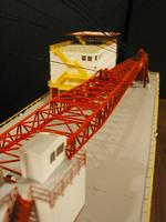 Name: P1010061 copy.jpg Views: 201 Size: 46.2 KB Description: Finished Mason crane model commissioned by Gunderson Marine. By A. Eng and J. Streeb