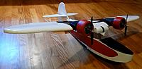 """Name: P1030241.jpg Views: 118 Size: 67.0 KB Description: 36"""" Grumman Goose from plans by Vyceroy."""
