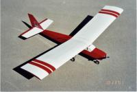 Name: Burt_PTelectric striped.jpg Views: 333 Size: 67.3 KB Description: Great Planes PTE kit covered in Monokote