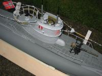 Name: sub pictures 004.jpg Views: 821 Size: 89.7 KB Description: Conning tower and deck gun.