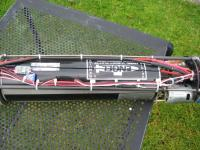 Name: new sub 015.jpg Views: 1245 Size: 127.8 KB Description: Engel 825cc proportional tank is good for trimming and will take the boat right under.