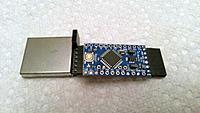 Name: ProMiniAndRX5808_1.jpg Views: 20 Size: 657.5 KB Description: ArduVidRx via Arduino Pro Mini and RX5808 Module