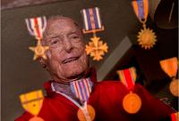 Name: Col Thacker with Medals.JPG