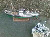 Name: 22032008(004).jpg Views: 299 Size: 133.5 KB Description: Graupner whailing boat, for sale.