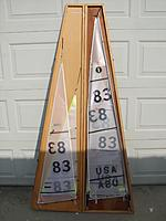 International One Meter IOM RC Sailboat Martin Firebrace Design
