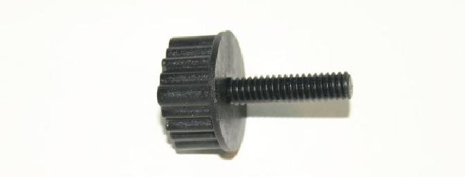 Thumb screw provided to hold the panels onto the fuse.