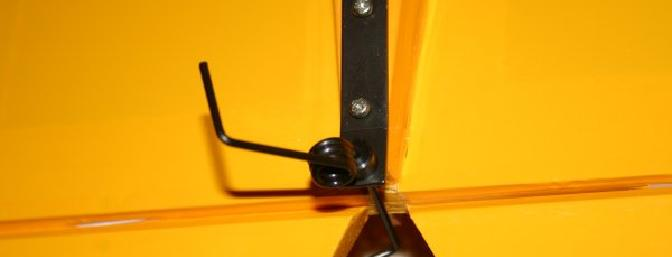Tailwheel mounting: