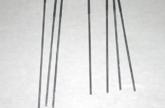 Control rods cut to length
