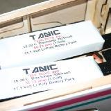 The Tanic 3650MAH packs.