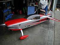 Name: P1010007.jpg Views: 65 Size: 90.1 KB Description: Aeroworks 50cc Extra 300LP, DLE-55, hitec servo's, receiver ready