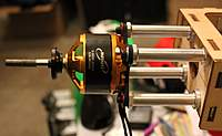 """Name: IMG_1464.jpg Views: 140 Size: 49.0 KB Description: For this motor, I needed 2.5"""" from the firewall to the back of the motor xmount."""
