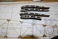 """Name: FuseFrame02A.jpg Views: 321 Size: 205.3 KB Description: Wound up tracing the ribs, scanning the outlines and redrawing in CAD to be cut on laser.  1/16"""" ply"""