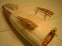 Name: Gull Frame1A.jpg Views: 163 Size: 108.2 KB Description: The turtledeck should also be sheeted and glassed now.