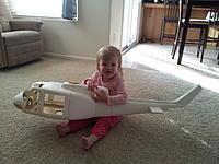 Name: 2012-01-11 14.58.28.jpg Views: 194 Size: 233.8 KB Description: Daddys princess modeling the new heli...