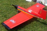 Name: Simitar Classic 02.jpg Views: 477 Size: 128.4 KB Description: With the huge rudder, this plane will do knife edge flight with ease.