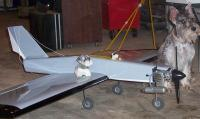"""Name: Wiseguy 02.jpg Views: 343 Size: 71.5 KB Description: Wiseguy with it inspiration for the color scheme, little Zoya. The plane now sports Schnauzer artork on the tail and nose, now I need to find a sticker that says,"""" Dog Water From Above"""""""