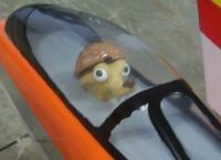 Name: Future Shock 04.jpg Views: 306 Size: 61.2 KB Description: Pilot Pez Skrat with walnut shell helmet.