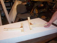 Name: 100_6937.jpg Views: 219 Size: 87.0 KB Description: 90' cutting guides used to cut the foam blanks to size