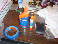 Name: DB 00.jpg Views: 166 Size: 122.2 KB Description: Elmer's Wood glue used to attach sub-spars to foam. Smaller pen-like bottle comes in real handy and can be refilled.